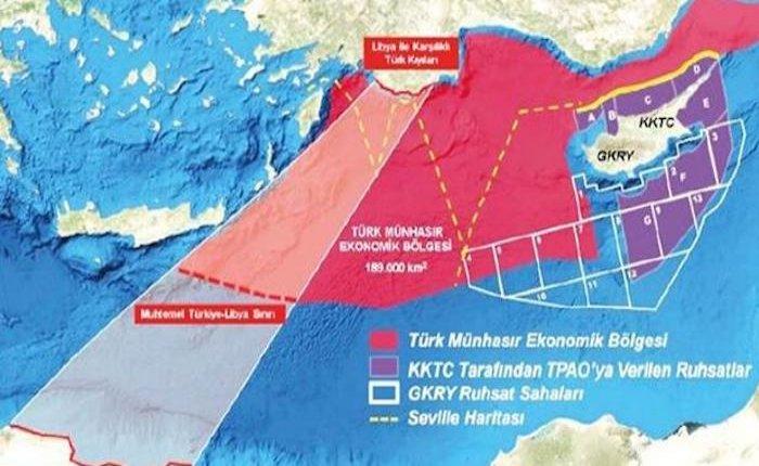 Türkiye ile Libya deniz yetki sınırlarını belirledi