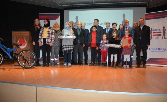 OEDAŞ'ın tasarruf temalı resim ve şiir yarışması sonuçlandı