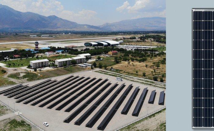 Erzincan Havalimanı GES üretime geçti