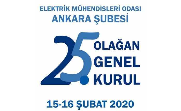 EMO Ankara Şubesi genel kurulu 15 Şubat'ta
