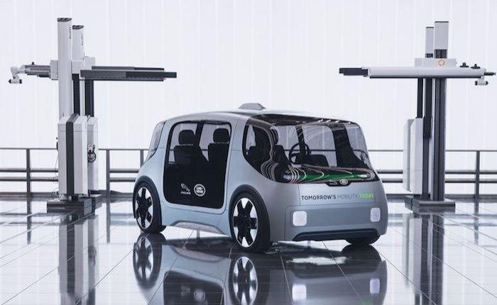 Jaguar sürücüsüz elektrikli aracını tanıttı