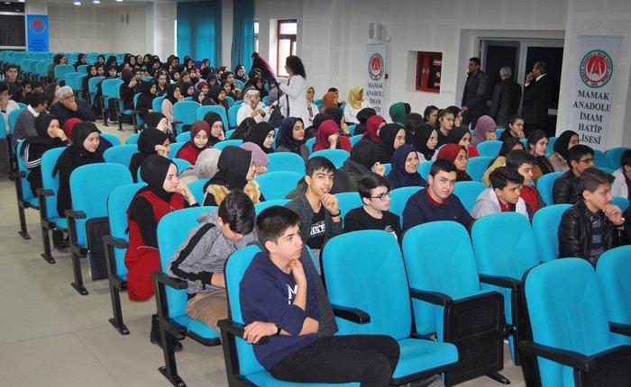 Ankara EMO'dan öğrencilere verimlilik sunumu