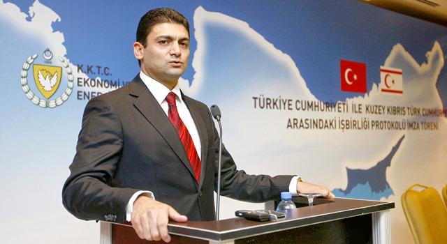 KKTC Ekonomi & Enerji Bakanı istifa etti