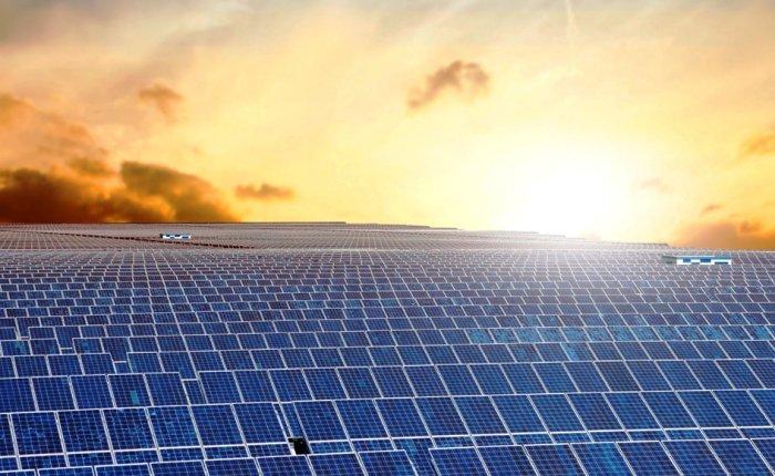 2019'da 45 bin MW büyük ölçekli GES kuruldu