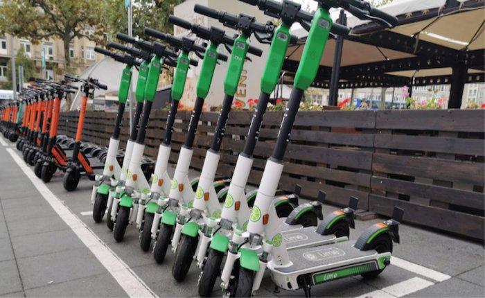 Kiralık elektrikli skuter işgal harcı 50 Kuruş