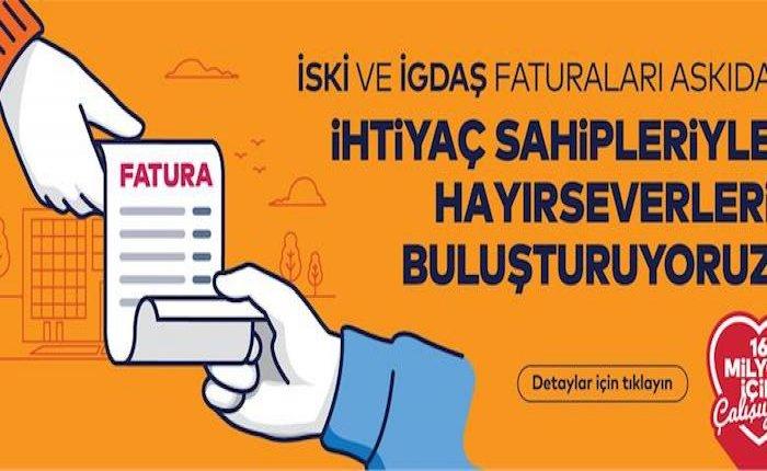 İstanbul'da askıda fatura uygulamasıyla 2 milyon borç ödendi