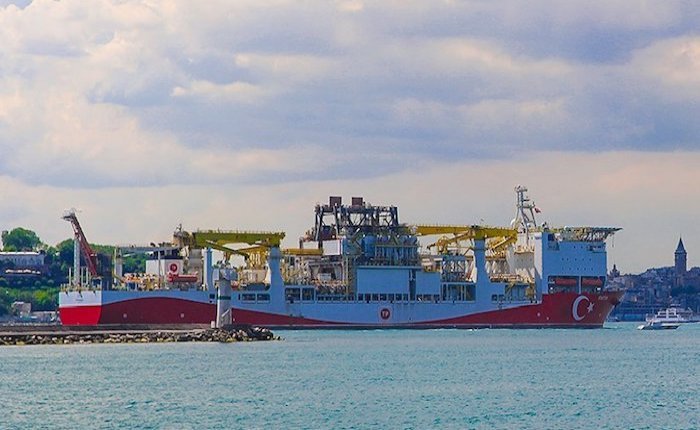 Fatih Sondaj Gemisi Karadeniz'e uğurlandı