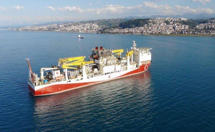 Fatih Sondaj Gemisi Karadeniz'e ulaştı