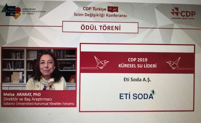 CDP İklim Değişikliği ve Su Programları 2019 Türkiye liderleri açıklandı