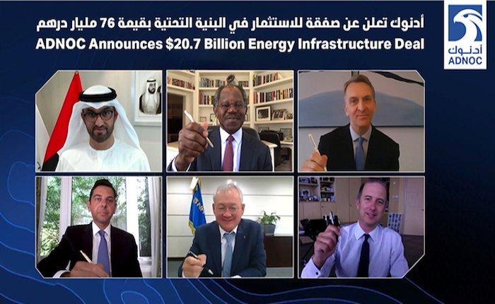 ADNOC 2020'nin en büyük enerji yatırımı için anlaştı