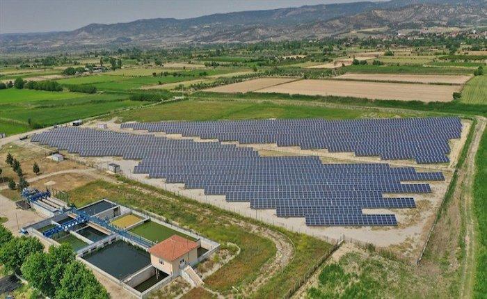 Denizli'deki Akköy GES 2 MW'a ulaştı