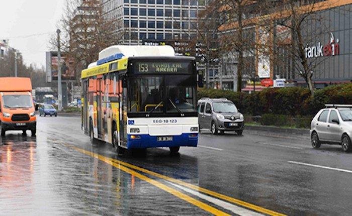 Ankara'ya 250 doğalgaz yakıtlı belediye otobüsü satın alınacak
