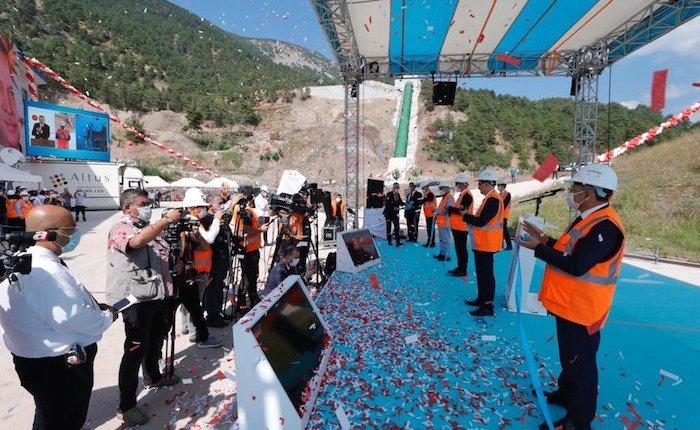 52 Hidroelektrik Santral'in açılışı yapıldı