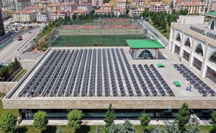 Ankara Kuşcağız Aile Yaşam Merkezi'nin elektriği güneşten sağlanacak