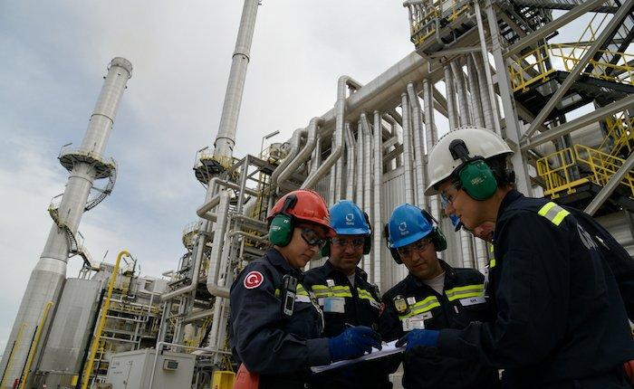 Tüpraş'ın İzmir Rafinerisindeki bakım çalışmaları tamamlandı