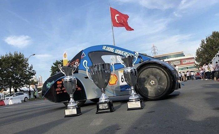 Shell Eco-Marathon'dan Türkiye üç birincilikle döndü