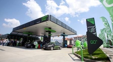 Bolu`da GO yakıt istasyonu açıldı