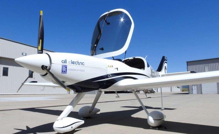 Rolls-Royce destekli elektrikli uçaklar göklerde