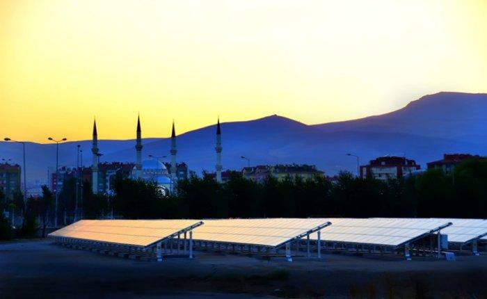 Aksaray'da içme suyu kuyularının elektriğigüneşten sağlanacak
