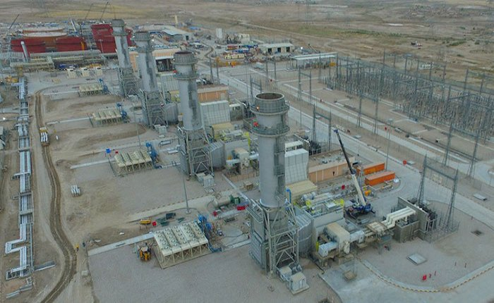 Irak'taki Dhi Qar Kombine Çevrim Santrali faaliyete geçti