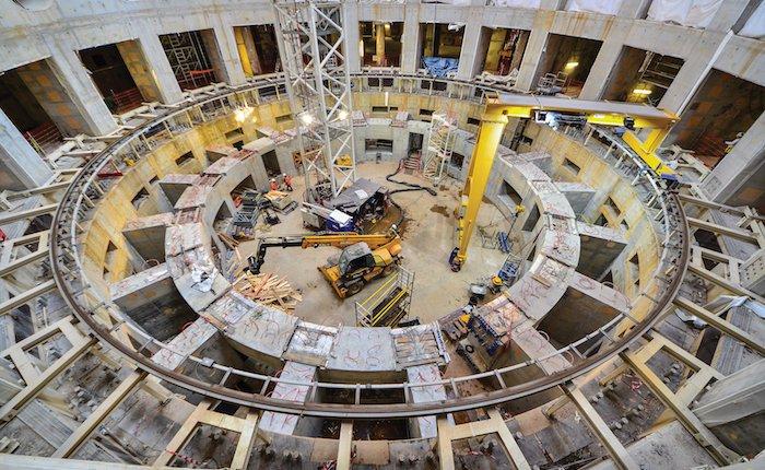 Dünyanın en büyük nükleer füzyon reaktörünün montajına başlandı