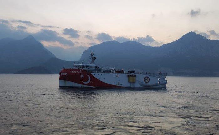 Doğu Akdeniz'de Yunanistan ile ilk temas!
