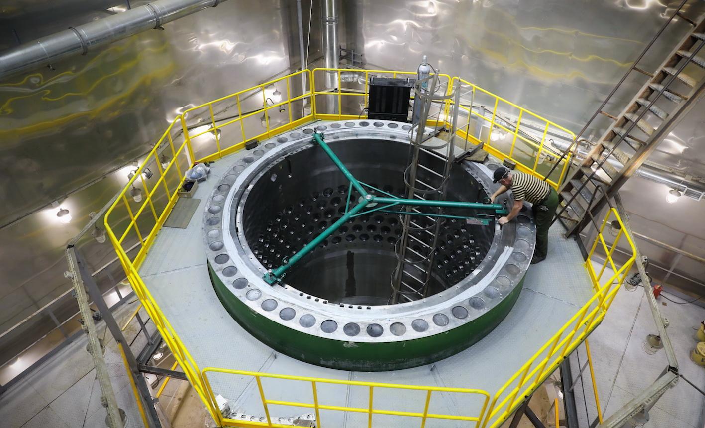 Akkuyu NGS'nin reaktör kontrol montajı başladı