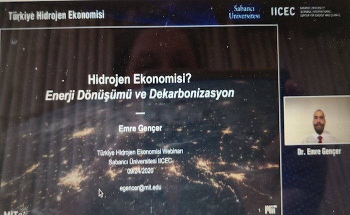 Gençer: Yeşil hidrojende rekabetçi fiyat kaynakların doğru optimizasyonuyla mümkün