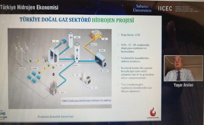 Arslan: Doğalgaza yüzde 20 hidrojen karışımı cihazlarda sorun yaratmayacak
