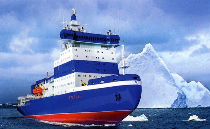 Nükleer güçle çalışan buzkıran Arktika buz koşullarına ayarlanacak