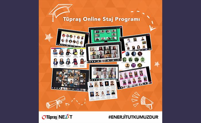 Tüpraş'ta online staj programı