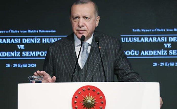 Erdoğan: Akdeniz'de sorunları tüm aktörlerle birlikte çözebiliriz