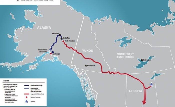 ABD ile Kanada arasında petrol taşıyacak demiryolu için ilk adım atıldı