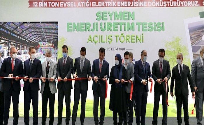 İstanbul'un çöplerini elektriğe çevirecek Seymen Tesisi kısmen üretimde