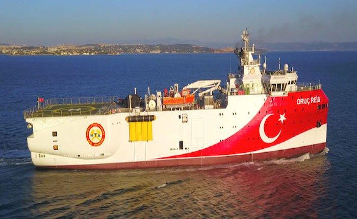Oruç Reis'in Akdeniz'de görev süresi 4 Kasım'a kadar uzatıldı