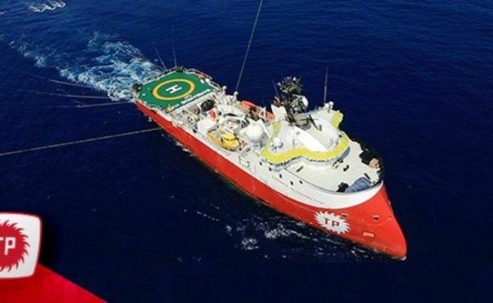 Barbaros Hayreddin Paşa Sismik Araştırma Gemisi'nin görev süresi uzatıldı