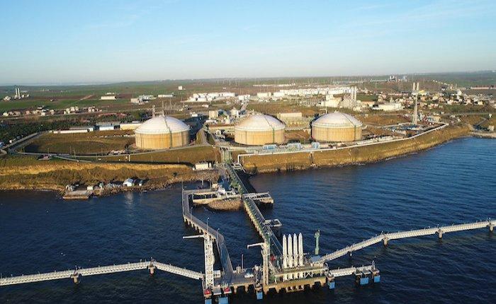 Botaş Marmara Ereğlisi LNG terminalinden gemilere yakıt ikmaline hazırlanıyor