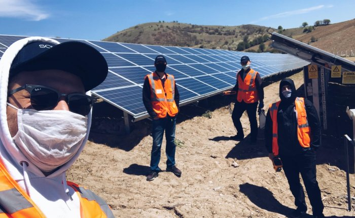 Verimsiz güneş paneli hasarı ile kendini EL'e veriyor
