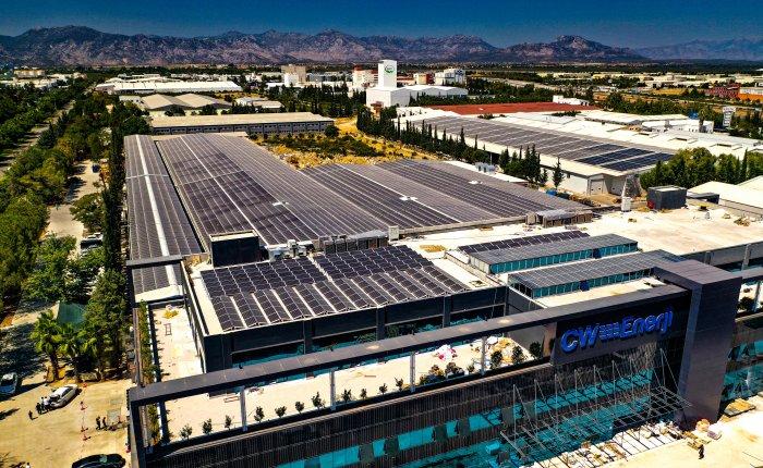 CW Enerji'den yeni nesil güneş paneli