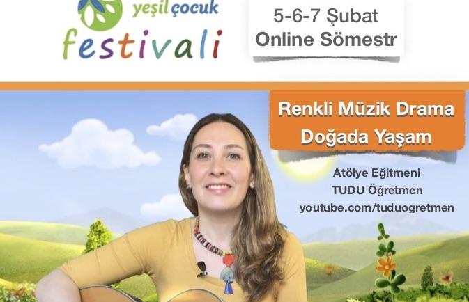 Online Yeşil Çocuk Festivali başlıyor