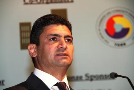 İstifa edemeyen KKTC Enerji Bakanı Ankara`da