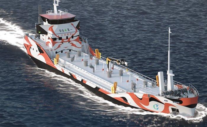 Dünyanın ilk sıfır emisyonlu tankerinin bataryası Norveç'ten