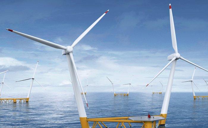 İsveçli Hexicon ikiz yüzer rüzgar türbini geliştirdi