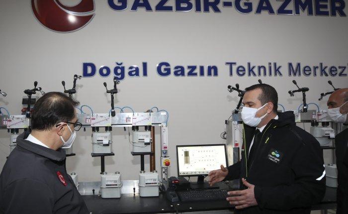 GAZBİR-GAZMER Temiz Enerji Merkezi açıldı