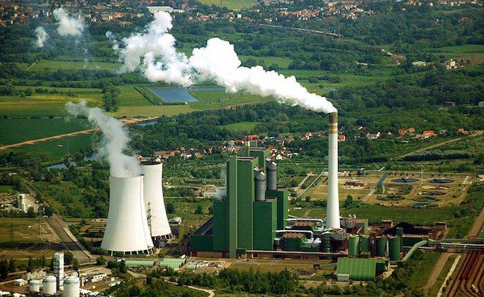 Almanya'nın fosil yakıtlı elektrik üretimi arttı