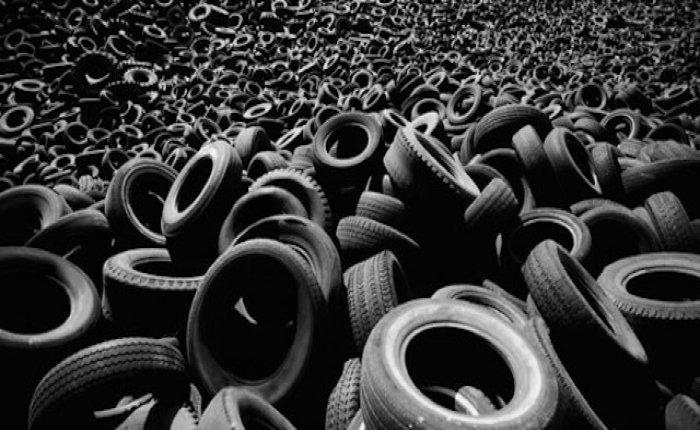 Sivas'ta atık lastiklerden elektrik üretilecek