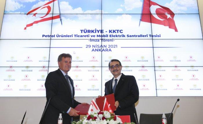 Türkiye ve KKTC enerjide işbirliği yapacak