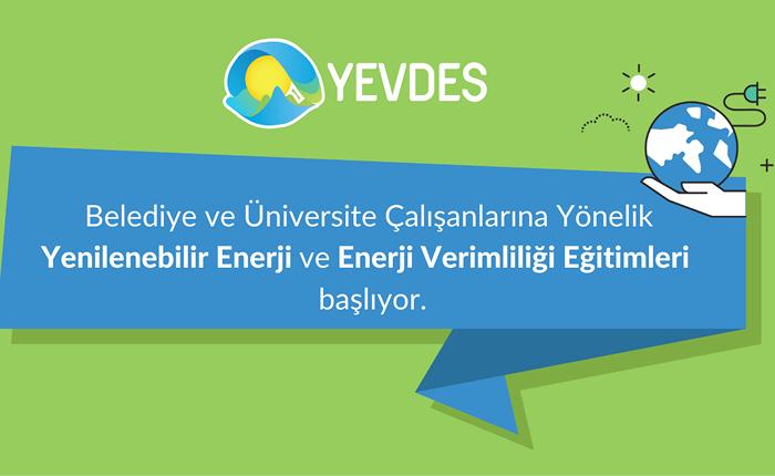 YEVDES enerji verimliliği eğitimleri başladı