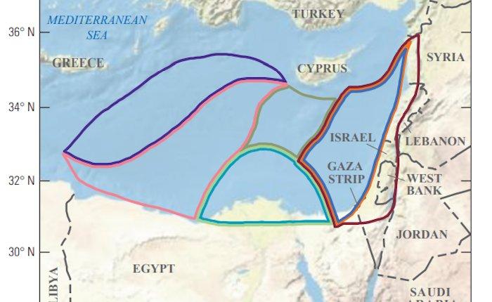 Doğu Akdeniz'de 8,1 trilyon metreküp keşfedilmemiş gaz bulunuyor