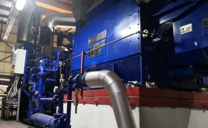 İnegöl Biyogaz ek motor ünitesine kısmi kabul adlı